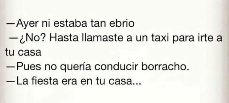 Chiste De Borrachos
